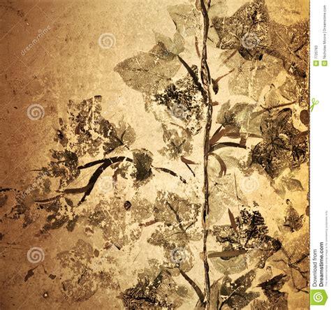 antique grunge floral background stock illustration image 7720783