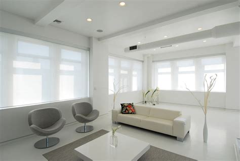 minimalist black  white living space digsdigs