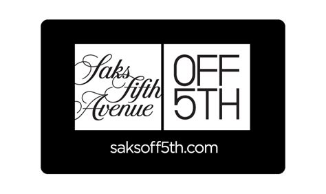 saks fifth avenue gift card lamoureph blog - Saks Off Fifth Gift Card