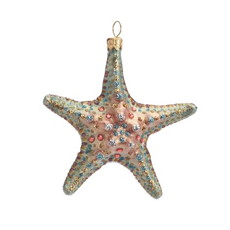 swarovski crystal starfish christmas ornament gump s