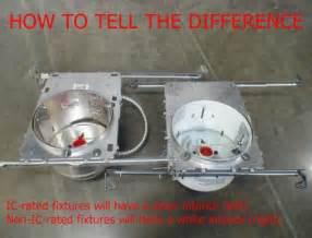 Recessed Light Covers For Attic Attic Insulation Can Light Moisture Internachi