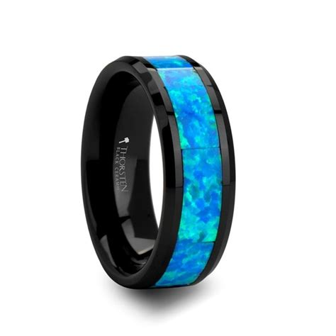 Wedding Bands Blue by Mens Wedding Bands With Blue Stones Images