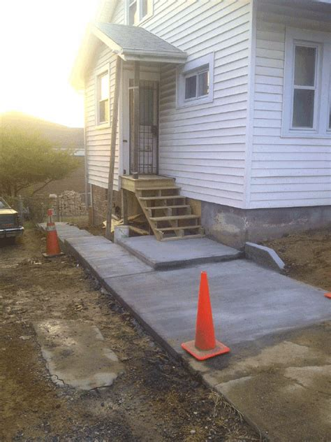 a pro renovation aprorenovation com home remodeling completed concrete walkway a pro renovation