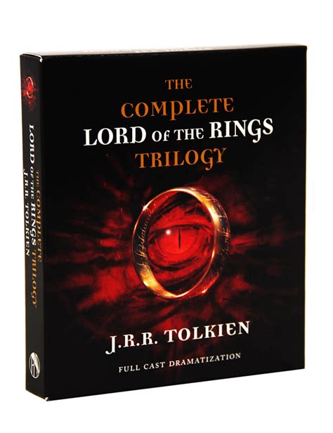 s es ring trilogy books lord of the rings complete trilogy audio cd 022807