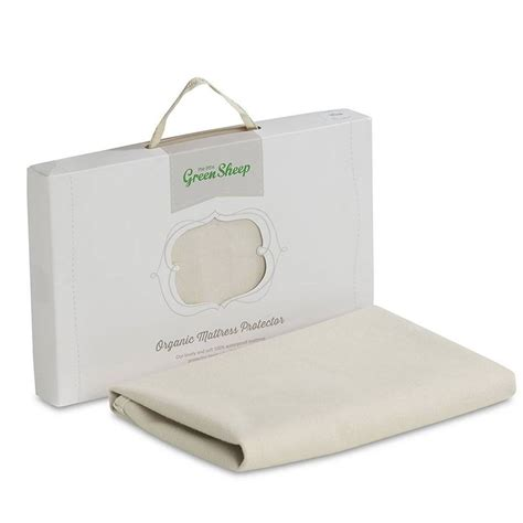 Mini Crib Mattress Cover The Green Sheep Organic Mattress Protector Stokke Mini Crib Baby Shower