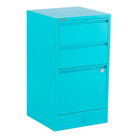 3 Door Filing Cabinet Bisley Aqua 2 3 Drawer Locking Filing Cabinets The Container Store