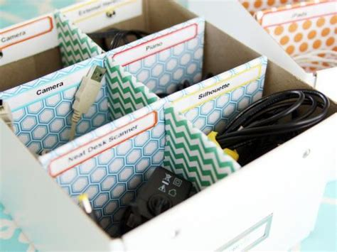 home organiser 15 diy cord and cable organizers for a clean and