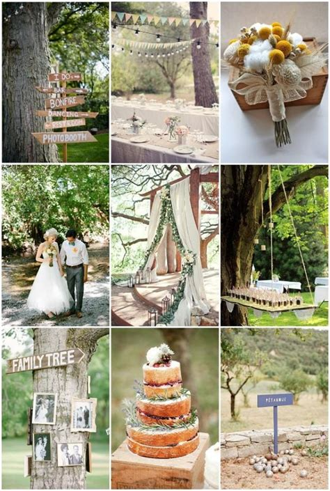 Backyard Wedding Themes by Backyard Bbq Wedding Ideas Weddbook