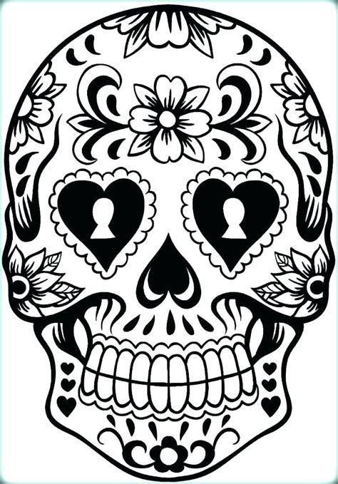 skull coloring sheets skull coloring sheets sugar skulls coloring pages skull