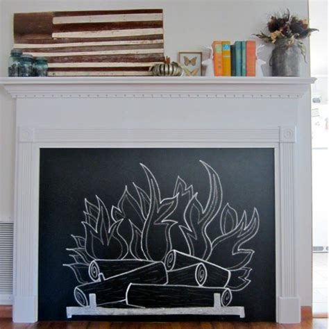 diy chalkboard fireplace 12 easy diy pallet projects diy network made