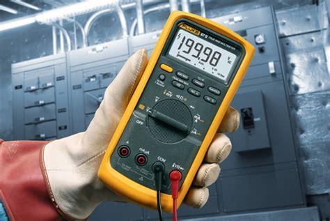 Fluke 87v Digital Multimeter fluke 87v e2 industrial electrician combo kit
