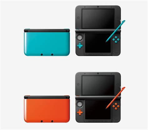 nintendo bringing two new 3ds xl colors to japan gimme