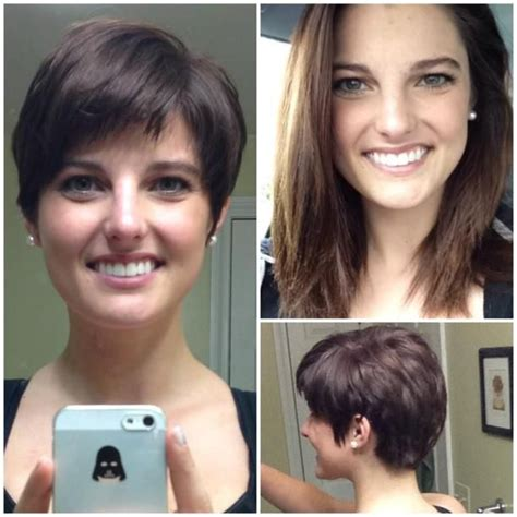 diy haircut before and after lully hair photo pixie hair licious pinterest hair