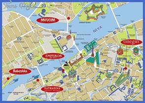 tourist attractions map st petersburg map tourist attractions map travel