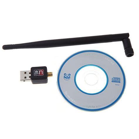 Wifi Usb Bandung wireless usb adapter 802 11n 150mbps realtek 8188 chipset dengan antena black