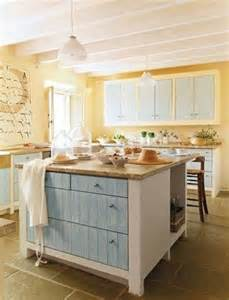 Light Blue Kitchen Ideas blue and yellow kitchen decoration using decorative light blue kitchen