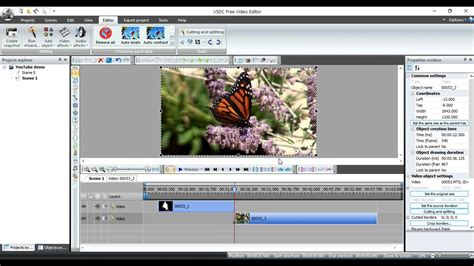 video tutorial video editing vsdc free video editor tutorial part 2 video splicing hd
