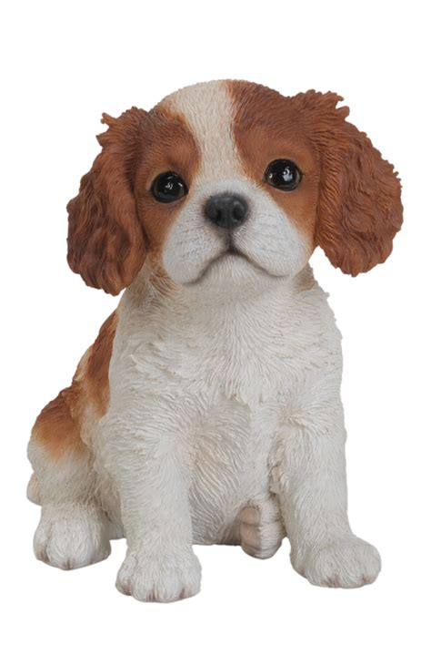 pet pals king charles puppy resin garden ornament 163 9