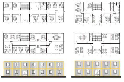 Houses With Open Floor Plans bauhu modular portable buildings bauhu cubes modular