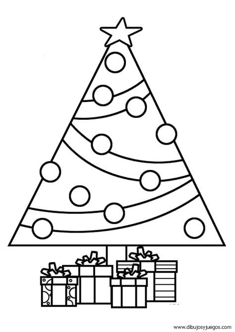 dibujo de arbol navidad 006 dibujos y juegos para