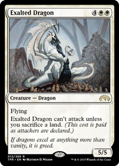 exalted deck tempest remastered card image gallery magic the gathering