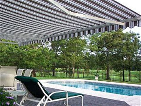 Sunsetter Patio Umbrellas by Awnings Overhead Door Co Of Columbus Oh