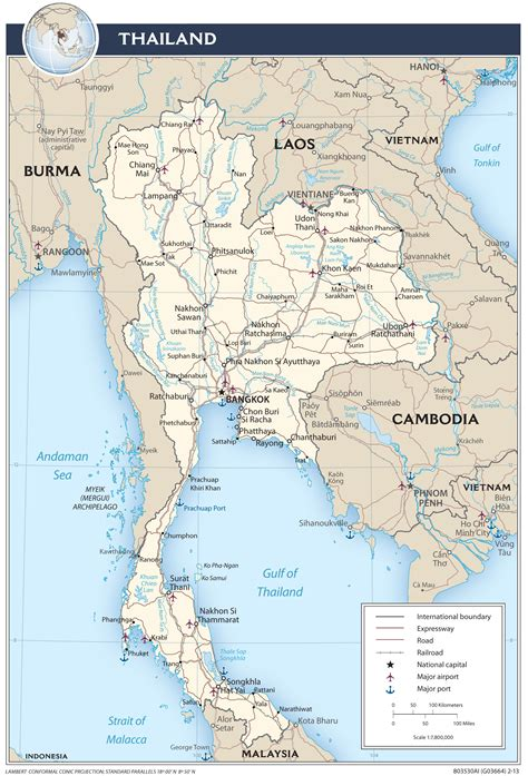 printable map thailand thailand maps perry casta 241 eda map collection ut