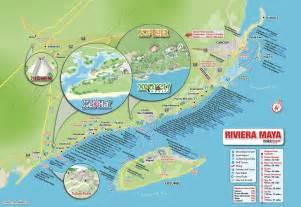 Riviera Maya Mexico Map by Riviera Maya Hotels Map Mayan Riviera Hotels Map
