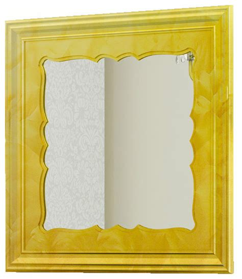 gold frame bathroom mirror damasco 31 quot 1 2 framed mirror gold fantasy traditional