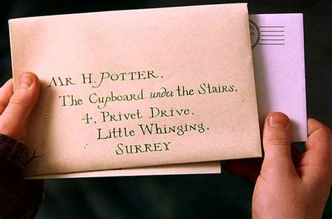 Boy Gets College Acceptance Letter Harry Potter And The Philosopher S Chapter 3 The Letters From No One As The Page Turns