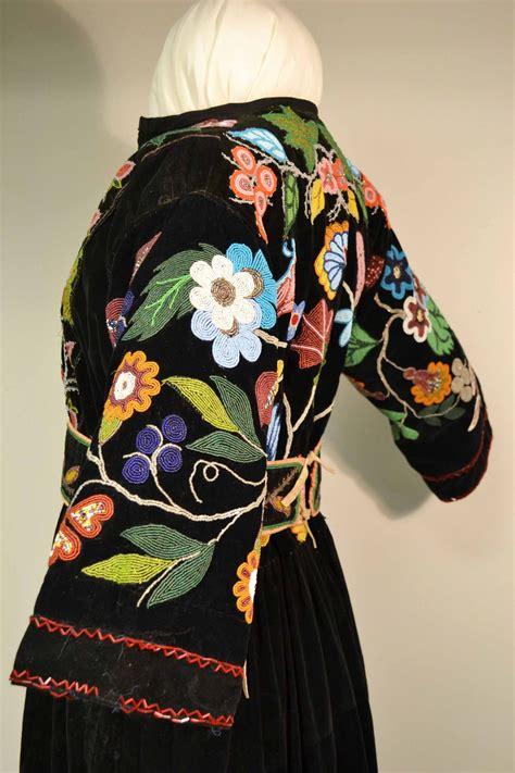 beadwork dress ojibwe dress beadwork beadwork and