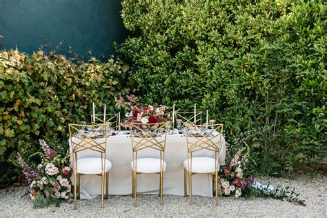 When Art Deco Meets Spring: Wedding Inspiration at The Fig