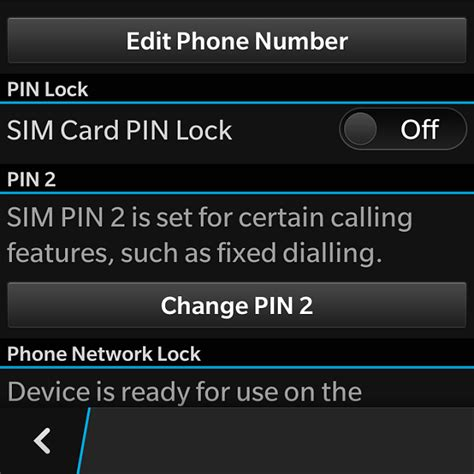 reset blackberry pin how to change sim card pin don t have the option