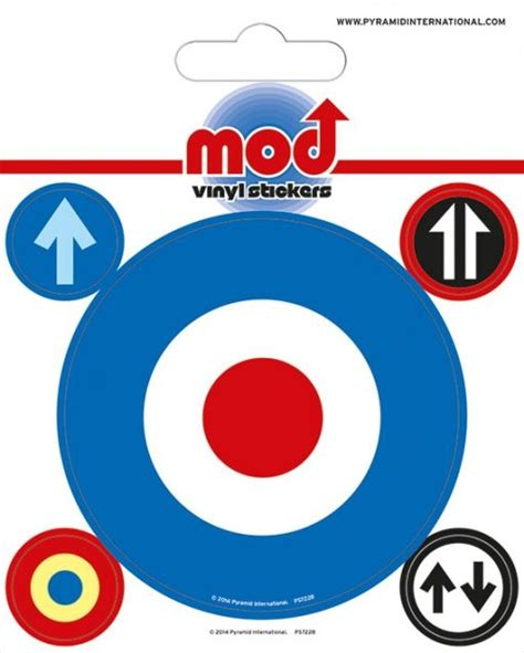 mod target sticker sold at europosters mod target sticker sold at europosters