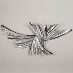Silver Metal Wall Decor by Infinity Silver Metal Wall Sculpture