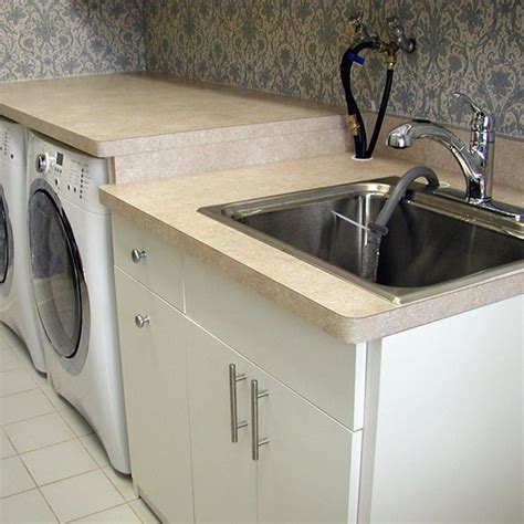 laundry room sinks stainless steel tagged stainless steel laundry room sink with cabinet archives house design and planning