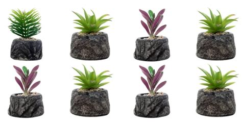 dekorasi pot bunga tanaman artifisial desain gambar