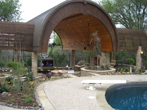 backyard patio design designed outdoor living by thomas burkhardt dallas
