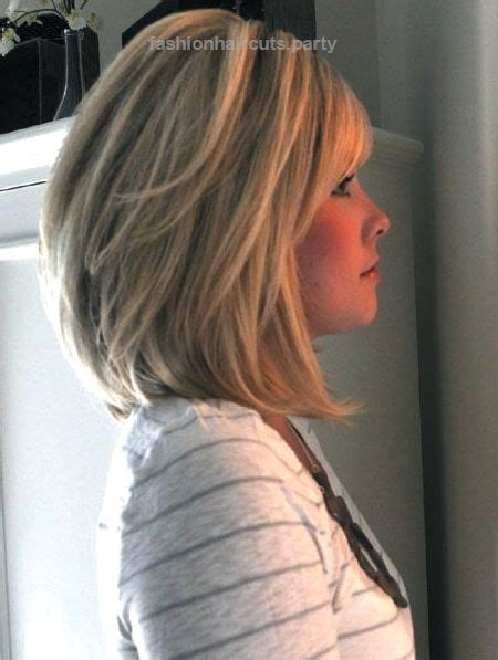 stacked haircuts for women over 50 mid length stacked bob for women 50 or over 14 medium