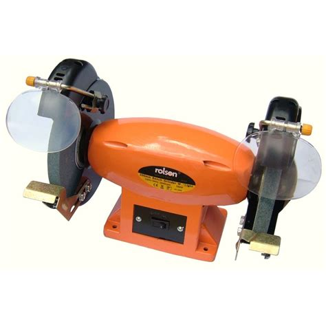 bench grinder shields rolson 8 quot 200mm bench grinder 550w with adjustable eye
