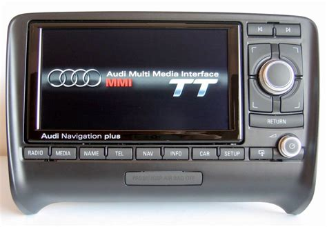 audi tt  rns  media  res  navigation  retrofit audio images