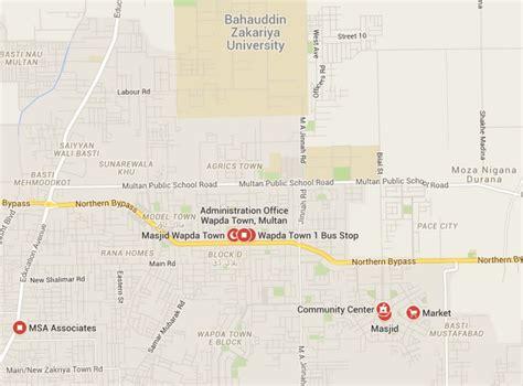 bureau location wapda town and nab multan raid update estate
