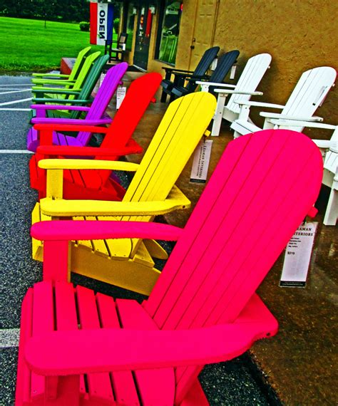 Colorful Adirondack Chairs by Colorful Adirondack Chairs On Display S Photo Album