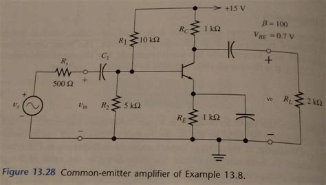 104 z5e capacitor transistor lifier small signal analysis 28 images graphical analysis of a bjt examcrazy bjt