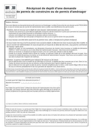 Cerfa 13409 05 autres permis de construire et permis d