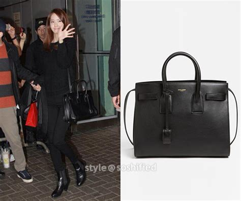 Yoona Satchel Small Black yves laurent sac de jour small grained leather tote