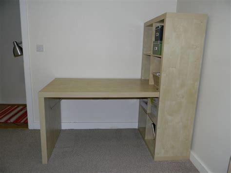 ikea expedit kallax desk storage  liverpool