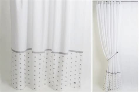 white nursery curtains nursery curtains