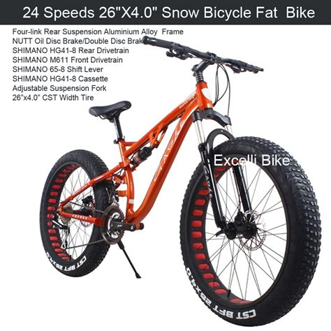 mtb wimcycle boxer 4 1 24 27 velocidades 26x4 0 quot nieve neum 225 ticos bicicleta