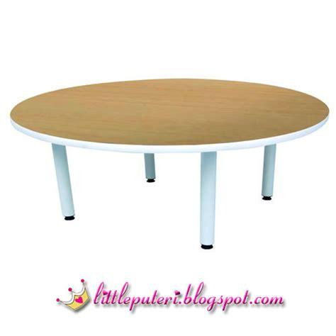 Meja Tempolong Bulat perabot tadika ns005 meja bulat table
